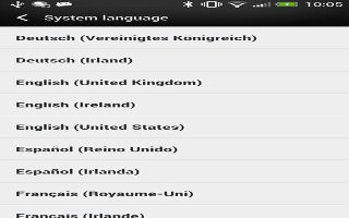 How To Change Language On HTC One
