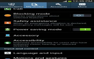 How To Access Settings On Samsung Galaxy S4