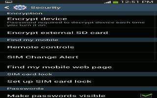 How To Setup Password On Samsung Galaxy S4