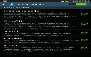 How To Use Voice Control On Samsung Galaxy S4