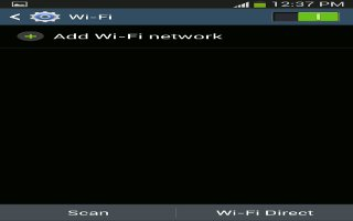 How To Use WiFi Settings On Samsung Galaxy S4
