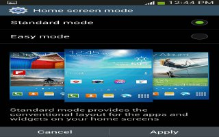 How To Use Home Screen Mode On Samsung Galaxy S4