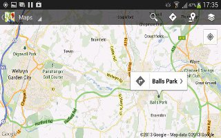 How To Use Maps On Samsung Galaxy S4