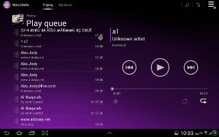 How To Use Playlists On Sony Xperia Tablet Z