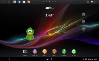 How To Use Widgets On Sony Xperia Tablet Z