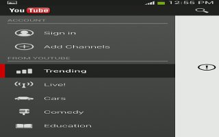 How To Use YouTube On Samsung Galaxy S4