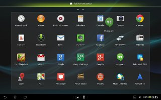 How To Configure Chrome On Sony Xperia Tablet Z