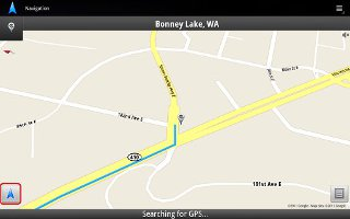 How To Use Navigation Apps On Sony Xperia Tablet Z