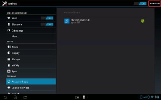 How To Sync With Corporate Email On Sony Xperia Tablet Z