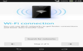 How To Use WiFi Settings - Sony Xperia Z Ultra