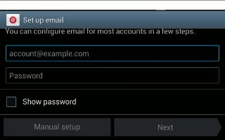 How To Use Email - Samsung Galaxy Tab 3