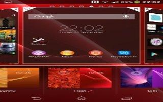 How To Use Lock Screen - Sony Xperia Z Ultra