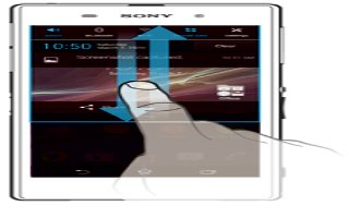 How To Use Notification Panel - Sony Xperia Z Ultra