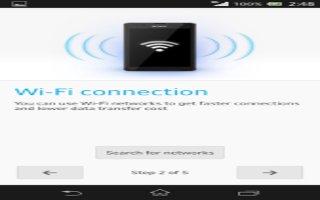 How To Use WiFi - Sony Xperia Z Ultra