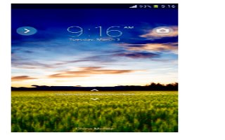 How To Use Locking And Unlocking Screen - Sony Xperia Z Ultra
