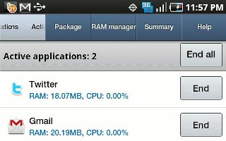 How To Use Task Manager - Samsung Galaxy Tab 3