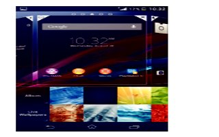 How To Use Wallpapers - Sony Xperia Z Ultra
