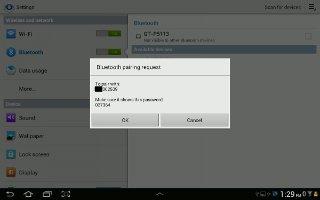 How To Pair Bluetooth - Samsung Galaxy Tab 3