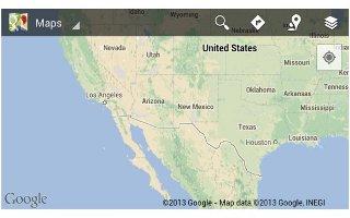 How To Use Google Maps App - Samsung Galaxy Tab 3