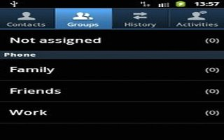 How To Use Groups - Samsung Galaxy Tab 3