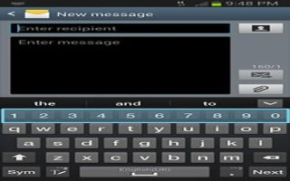 How To Create Messages - Samsung Galaxy Note 3