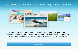 How To Configure Story Album - Samsung Galaxy Note 3