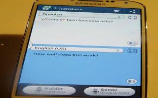 How To Use S Translator App - Samsung Galaxy Note 3