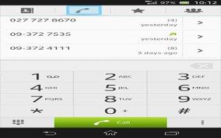 How To Use CalHow To Use Call Log - Sony Xperia Z Ultral Log - Sony xperia Z Ultra