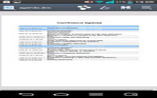 How To Use Polaris Office 5 - LG G2