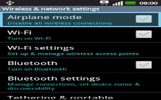 How To Use Airplane Mode - LG G2