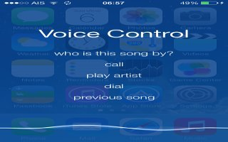 How To Use Voice Control - iPhone 5S