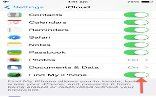 How To Use Find My iPhone App - iPhone 5S