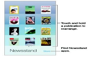 How To Use Newsstand App - iPhone 5S