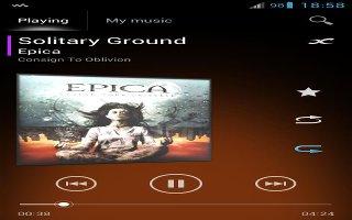 How To Use Playlists - Sony Xperia Z1