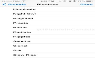 How To Change Ringtones - iPhone 5C