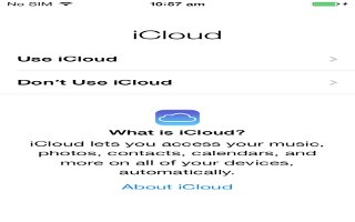 How To Setup iCloud - iPhone 5C