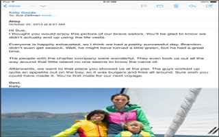 How To Use Mail - iPad Air