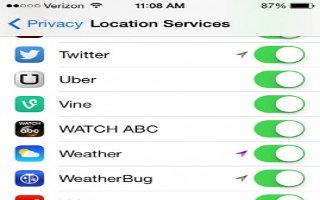 How To Use Privacy - iPad Air
