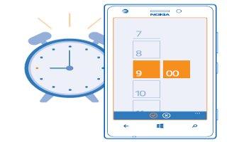 How To Use Alarm App - Nokia Lumia 720