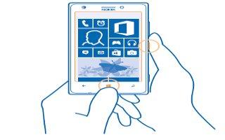 How To Take Screenshot - Nokia Lumia 925