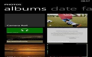 How To Create Album - Nokia Lumia 1020