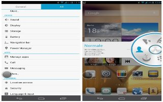 How To Adjust Screen Brightness - Huawei Ascend Mate