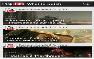 How To Use YouTube App - Samsung Galaxy Tab 3