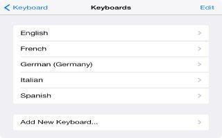 How To Add Keyboard - iPad Mini 2