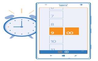 How To Use Alarms - Nokia Lumia 1520