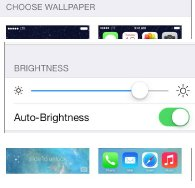 How To Adjust Brightness - iPhone 5C