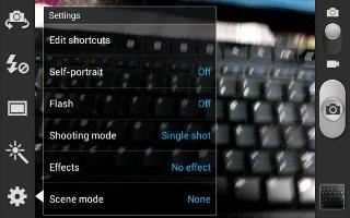 how to use samsung galaxy camera