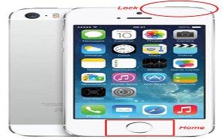How To Take Screenshot - iPhone 5S