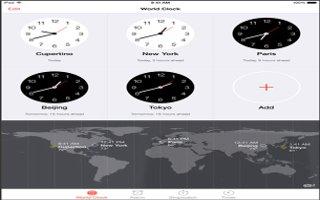 How To Use Clocks - iPad Mini 2