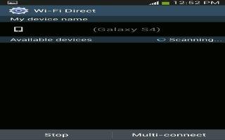How To Share Using WiFi Direct - Samsung Galaxy Tab 3